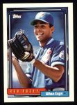 1992 Topps #739  Rob Ducey  Front Thumbnail