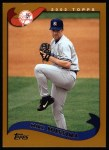 2002 Topps #20  Mike Mussina  Front Thumbnail