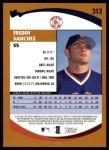 2002 Topps #313  Freddy Sanchez   Back Thumbnail