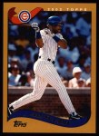 2002 Topps #385  Fred McGriff  Front Thumbnail