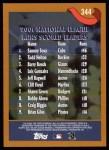 2002 Topps #344   -  Sammy Sosa / Todd Helton / Barry Bonds NL Runs Leaders Back Thumbnail