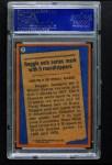 1978 Topps #7   -  Reggie Jackson Record Breaker Back Thumbnail