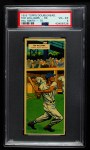 1955 Topps DoubleHeader #69 / 70 -  Ted Williams / Mayo Smith  Front Thumbnail