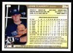 1999 Topps #4  John Flaherty  Back Thumbnail