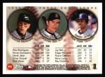 1999 Topps #452   -  Derek Jeter / Alex Rodriguez / Nomar Garciaparra All- SS Back Thumbnail