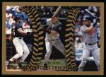 1999 Topps #456   -  Frank Thomas / Tim Salmon / David Justice All- DH Front Thumbnail
