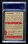 1955 Parkhurst #15  Eric Nesterenko  Back Thumbnail
