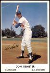 1961 Bell Brand Dodgers #16  Don Demeter     Front Thumbnail
