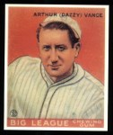 1933 Goudey Reprint #2  Dazzy Vance  Front Thumbnail