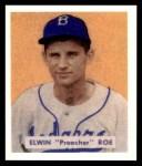 1949 Bowman REPRINT #162  Preacher Roe  Front Thumbnail