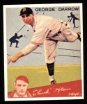1934 Goudey Reprint #87  George Darrow  Front Thumbnail