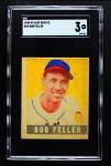 1948 Leaf #93  Bob Feller  Front Thumbnail