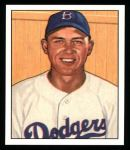 1950 Bowman REPRINT #112  Gil Hodges  Front Thumbnail