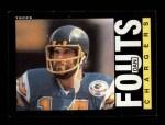 1985 Topps #372  Dan Fouts  Front Thumbnail