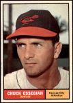 1961 Topps #384  Chuck Essegian  Front Thumbnail