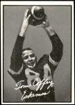 1961 Topps CFL #33  Tommy Joe Coffey  Front Thumbnail