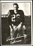 1961 Topps CFL #40  Howie Schumm  Front Thumbnail