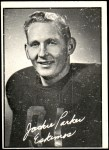 1961 Topps CFL #39  Jackie Parker  Front Thumbnail