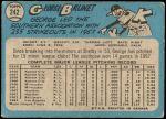 1965 O-Pee-Chee #242  George Brunet  Back Thumbnail