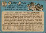 1965 O-Pee-Chee #237  Bernie Allen  Back Thumbnail