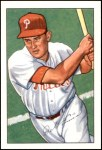 1952 Bowman REPRINT #76  Del Ennis  Front Thumbnail