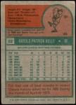 1975 Topps Mini #82  Pat Kelly  Back Thumbnail