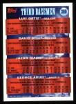 1994 Topps #369  Luis Ortiz / David Bell / George Arias / Jason Giambi  Back Thumbnail