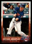 2015 Topps #599 A Michael Brantley  Front Thumbnail