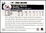2004 Topps #327  Vince Wilfork  Back Thumbnail