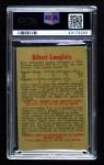 1959 Parkhurst #45  Albert Langlois  Back Thumbnail