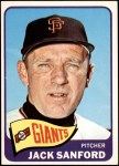 1965 Topps #228  Jack Sanford  Front Thumbnail