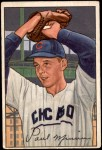 1952 Bowman #211  Paul Minner  Front Thumbnail