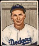 1950 Bowman #223 CR Jim Russell  Front Thumbnail