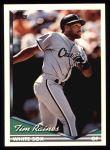 1994 Topps #243  Tim Raines  Front Thumbnail
