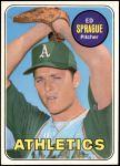 1969 Topps #638  Ed Sprague  Front Thumbnail