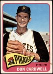 1965 Topps #502  Don Cardwell  Front Thumbnail