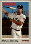 2019 Topps Heritage #503  Michael Brantley  Front Thumbnail