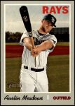 2019 Topps Heritage #537 A Austin Meadows  Front Thumbnail