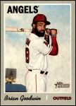 2019 Topps Heritage #550  Brian Goodwin  Front Thumbnail
