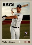 2019 Topps Heritage #604  Nate Lowe  Front Thumbnail