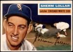 1956 Topps #243  Sherm Lollar  Front Thumbnail