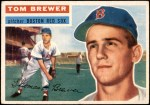 1956 Topps #34  Tom Brewer  Front Thumbnail