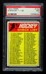 1970 Topps #132   Checklist Front Thumbnail