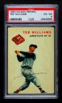 1954 Wilson Franks  Ted Williams  Front Thumbnail