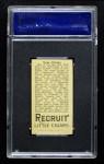 1912 T207  Tommy Clarke  Back Thumbnail