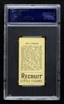 1912 T207  Doc Crandall  Back Thumbnail