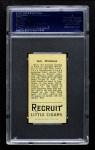 1912 T207  Bob Williams  Back Thumbnail