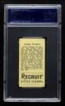 1912 T207  Art Fletcher  Back Thumbnail