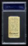1912 T207  Otto Knabe    Back Thumbnail
