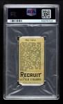 1912 T207  Max Carey    Back Thumbnail